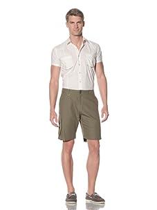 SIFR Men's Volume Pocket Cargo Short (Olive)