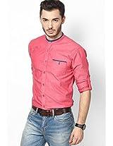 Pink Casual Shirt Status Quo