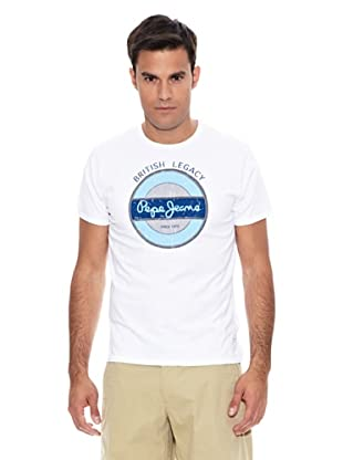 Pepe Jeans London Camiseta Sheen (Blanco)