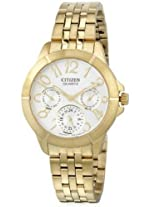 Citizen Analog White Dial Women's Watch - ED8102-56A