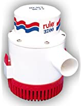 Rule 3700 GPH Non-Automatic Bilge Pump - 32v