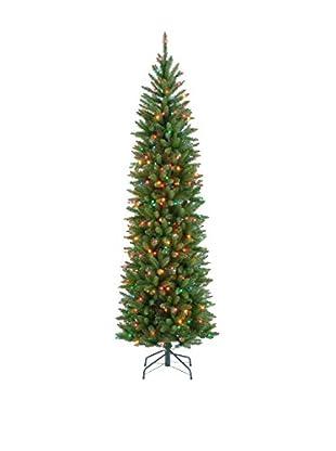 National Tree Company 7.5' Kingswood Fir Hinged Pencil Tree