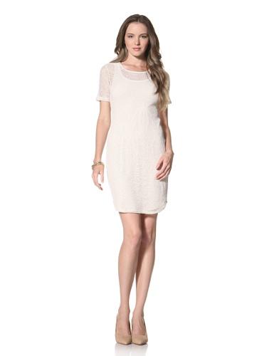 Twenty Tees Women's Layered Dress (Soft Almond)