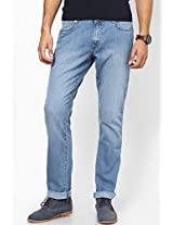 Light Blue Slim Fit Jeans (Skanders) Wrangler