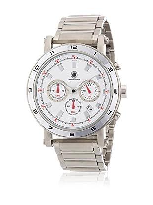 Constantin Durmont Reloj de cuarzo Unisex CD-MATA-QZ-ST-STST-WH  44 mm