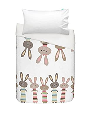 Little W Juego De Funda Nórdica Little Rabbits