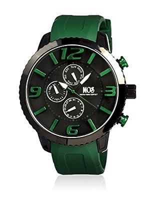 Mos Reloj con movimiento cuarzo japonés Mosml104 Verde 50  mm