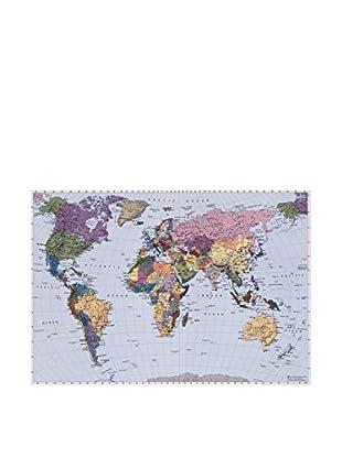 Effeline Wandtapete 270X188 World Map
