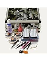 Professional False Extension Eyelash Glue Brush Full Kit Set with Case
