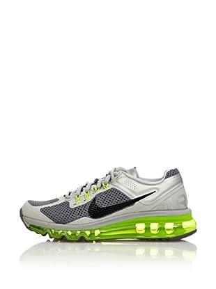 Nike Zapatillas Air Max 2013 (Gris / Lima)