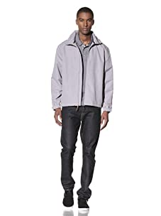 Hawke & Co Men's The Windblocker Jacket (Silver)