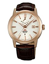 Orient White Dial Analogue Watch for Men (SFD0J001W0)
