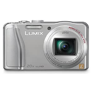 Panasonic Lumix DMC-TZ30GA-S 14.1MP Point-and-Shoot Digital Camera (Silver) with 4GB SD Card, Carry Case