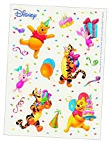 Disney Winnie Birthday Stickers, Multi Color