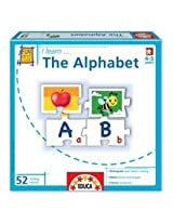 I Learn: The Alphabet - 52 Piece Jigsaw Puzzle by Educa