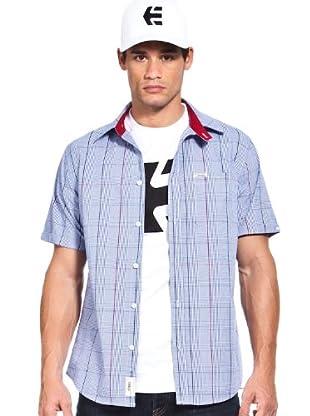 Etnies Camisa Cuadros (Azul)