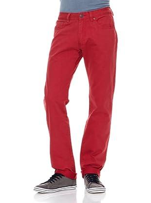 Springfield Pantalón S1 5P (Rojo)