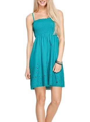 s.Oliver Vestido Jodie (Azul turquesa)