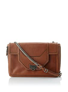 Rebecca Minkoff Women's Allie Convertible Handbag with Expanding Zippered Gussets (Luggage)