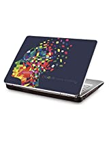 """Clublaptop CLS 54 Creativity Takes Courage Laptop Skin For 15.6"""" Laptops"""