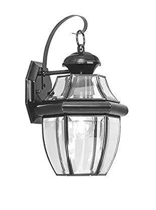 Crestwood Mabel 1-Light Wall Light, Black