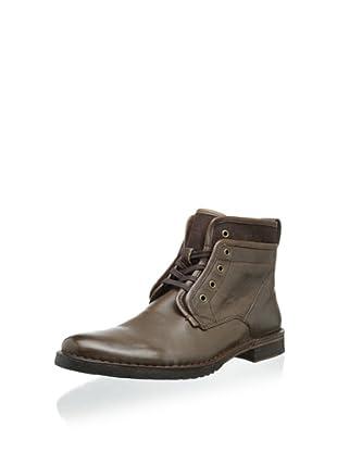 John Varvatos Men's Driggs Hidden Lace Boot (Brownstone)
