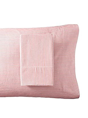 Westport Linens Set of 2 Yarn Dyed Striped Pillowcases
