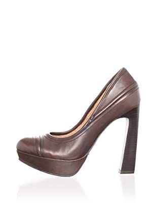 Modern Vintage Women's Sammy Platform Pump (Chocolate)