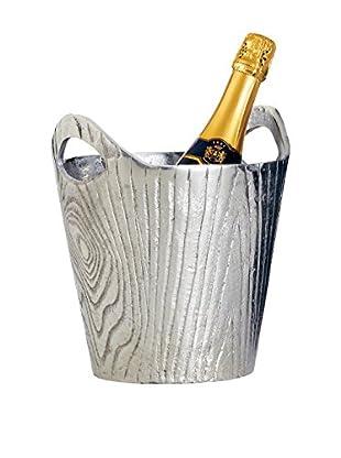 Torre and Tagus Aluminum Bark Wine Bucket