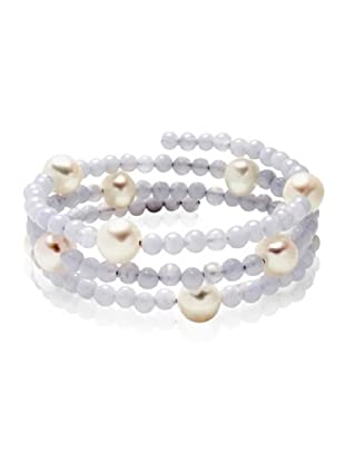 Valero Pearls 60200805 - Pulsera de mujer con perla cultivada de agua dulce, 50 cm