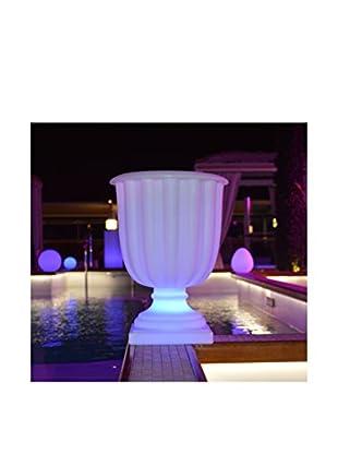 Artkalia Talcy LED Wireless Bucket Light, White Opaque