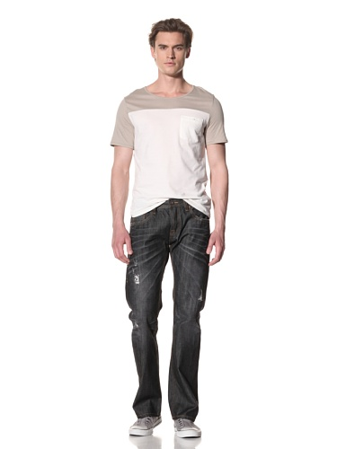 Cult Of Individuality Men's Japanese Hagan Relaxed Jean (Voodoo)