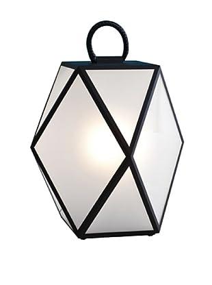 Contardi Muse Floor Lamp (White Transparent)
