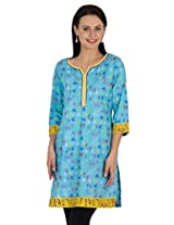 Sohniye Hand Sequenced Cotton Kurta