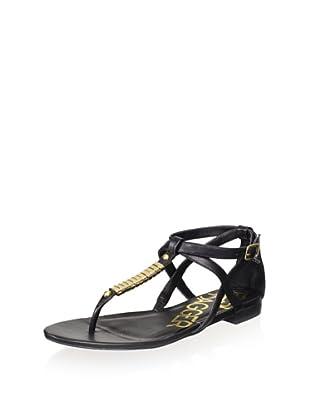 Kelsi Dagger Women's Kimmy Metal Sandal (Black)