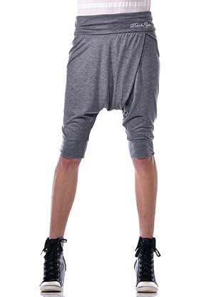 Datch Gym Pantalone Capri (Grigio)