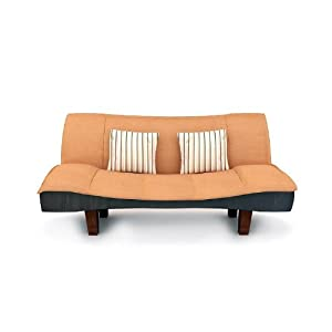 Housefull Brown Sofa Cum Bed for Living Room