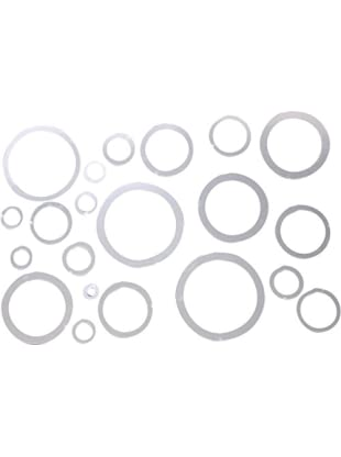 LO+DEMODA Wandtatoo-Spiegel Rings