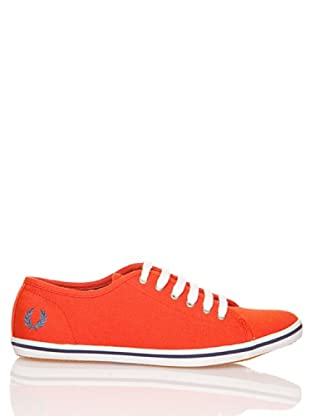 Fred Perry Deportiva Phoenix Canvas (Rojo)