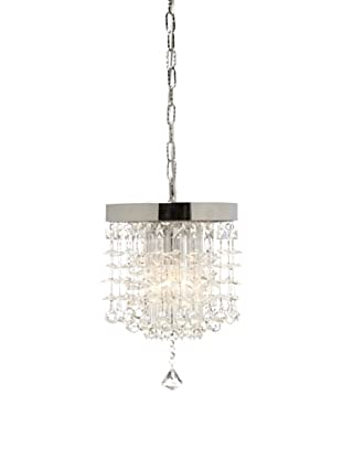 Uttermost Fascination Crystal Mini Pendant (Clear/Chrome)