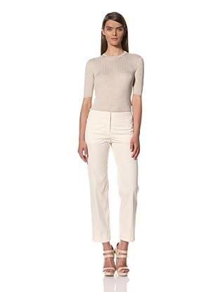 JIL SANDER Women's Cotton Blend Pant
