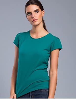 Cortefiel Top Basic (Grün)