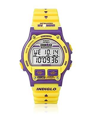 TIMEX Reloj de cuarzo Unisex Unisex Ironman Original 8-Lap Amarillo 38 mm