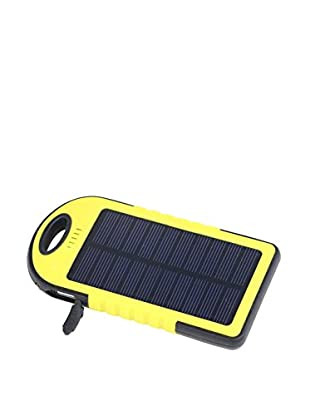 iPM 5000 mAh Solar Powered Flash Charger for Smartphones, Yellow