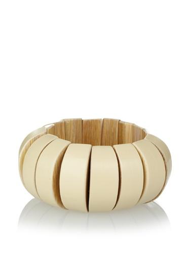 MARNI Women's Buttercream Beaded Stretch Bracelet
