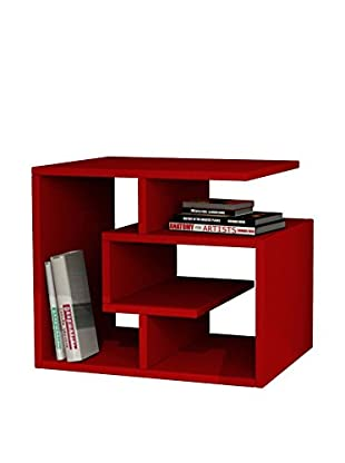 Best seller living Mesa Auxiliar Labirent Rojo