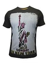 Spykar Round Neck T-Shirt