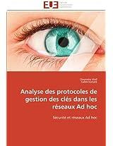 Analyse Des Protocoles de Gestion Des Cles Dans Les Reseaux Ad Hoc (Omn.Univ.Europ.)