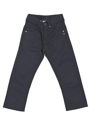 Pantalón Gabardine 5 Tasche (Azul)