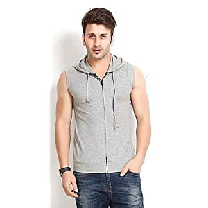Gritstones SDL042286969 Grey Cotton Men Jacket